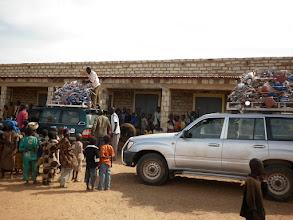 Photo: aankomst in Nalou