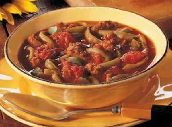 Low Carb Green Bean Chili Recipe