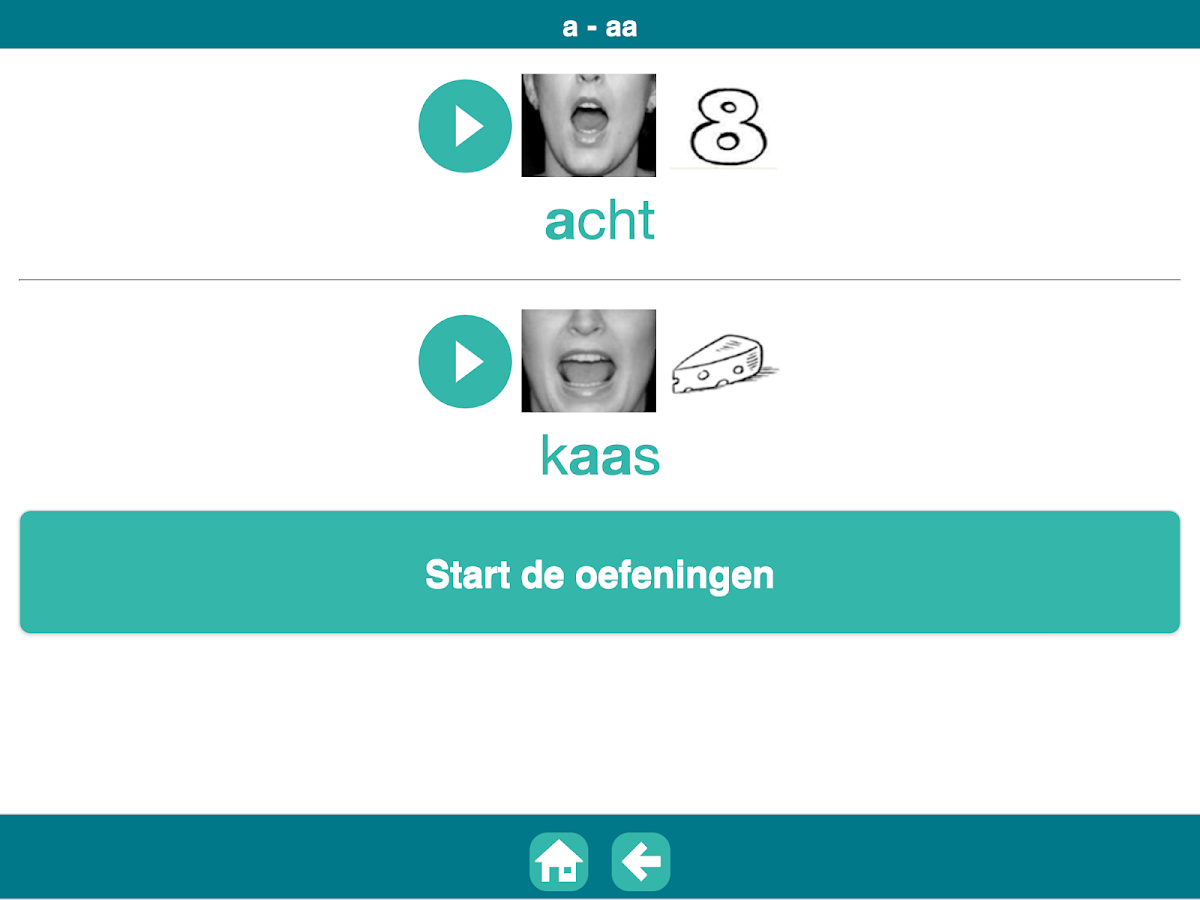 Uitsprekend: screenshot