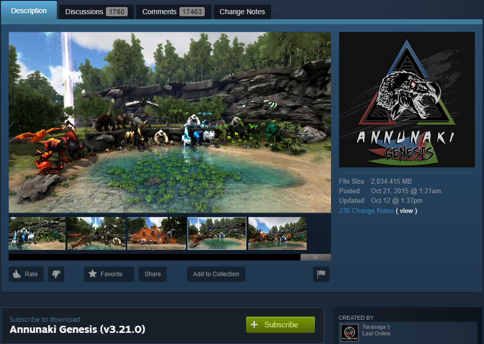 How to Install ARK: Survival Evolved Mods to Your Steam Client