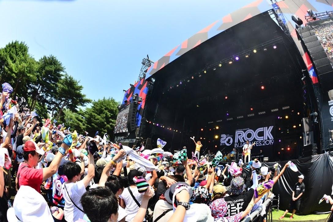 【迷迷現場】ROCK IN JAPAN 2019 HY 領全場大跳沖繩傳統舞蹈