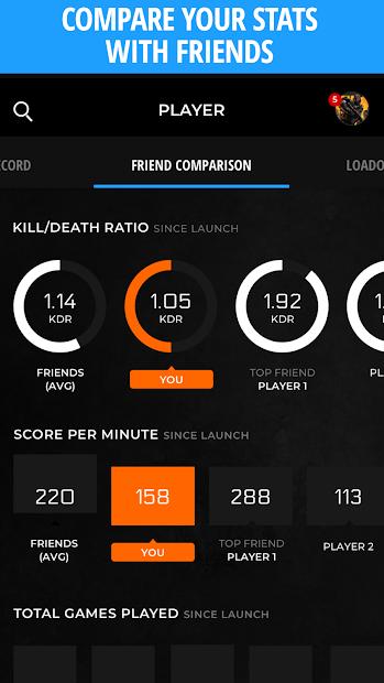 Call of Duty Companion App Android App Screenshot