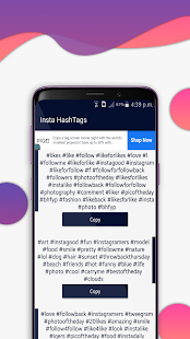 Best Hashtags for Instagram Screenshot