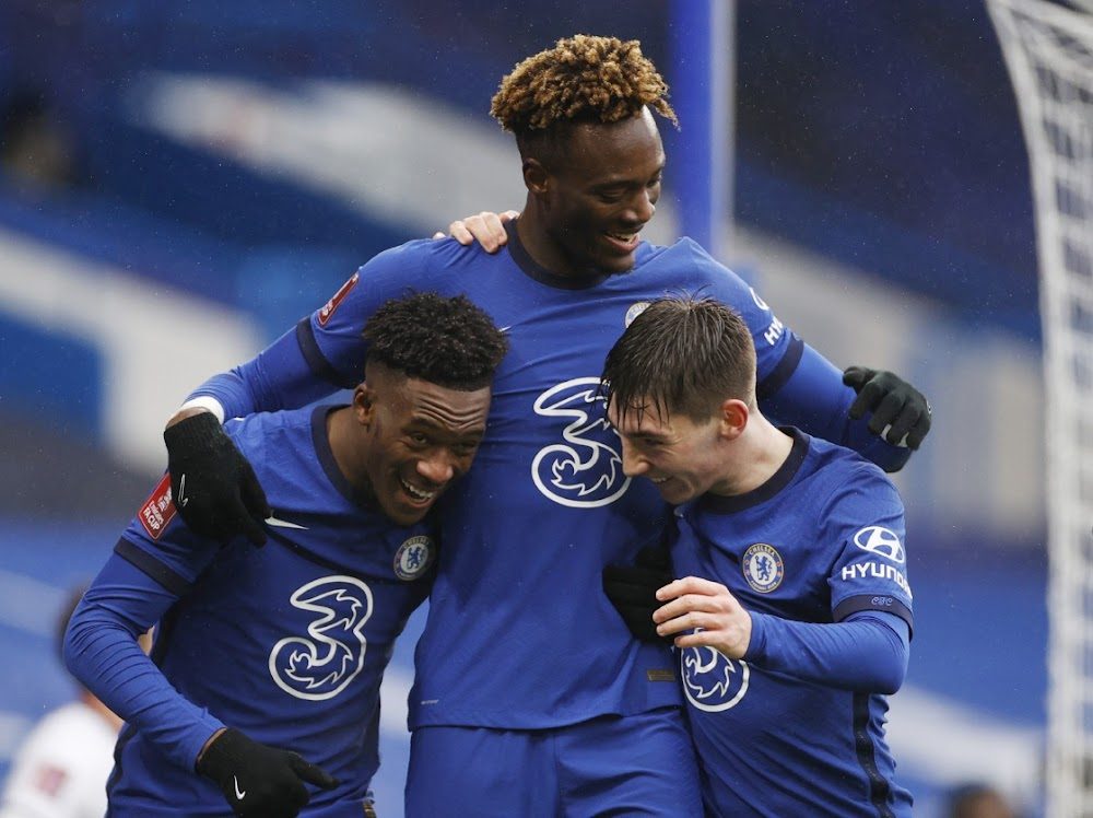 Tammy Abraham hat-trick takes Chelsea into FA Cup fifth round