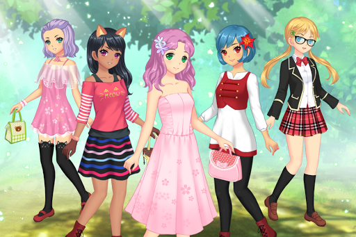 Anime Dress Up - Games For Girls 1.1.6 screenshots hack proof 1