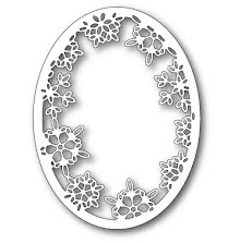 Memory Box Die - Batavia Snowflake Oval