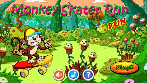 Monkey Skater Run