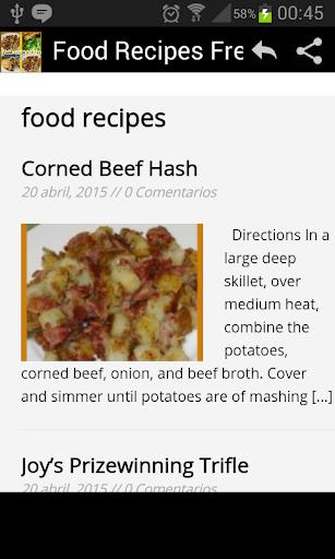 Rich Recipes Food