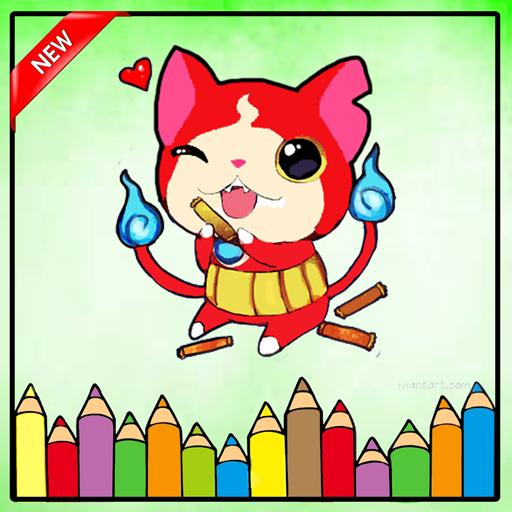 Coloring Book Yokai