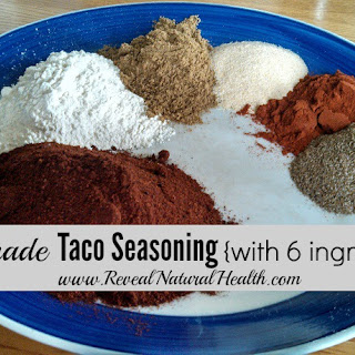 Homemade Taco Seasoning Recipe {Improved}