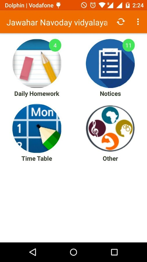 MssApp - for students/parents- screenshot