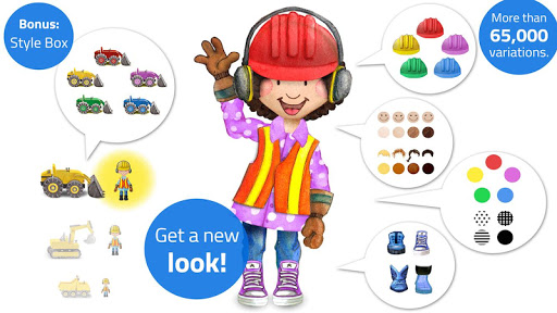 Tiny Builders: Crane, Digger, Bulldozer for Kids  screenshots 5