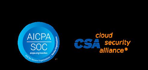 SOC and CSA STAR icons