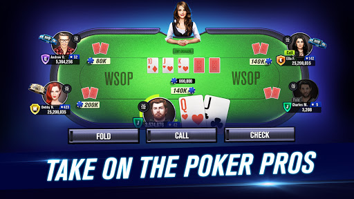 World Series of Poker – WSOP Free Texas Holdem screenshot 1
