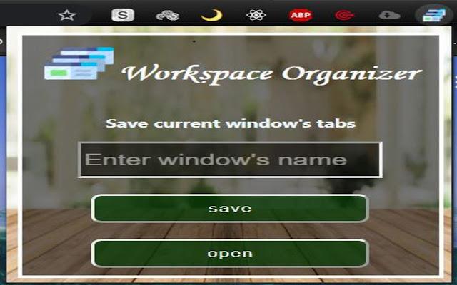 Workplace Organizer