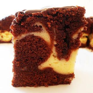 Cheesecake Brownies Marble Squares.