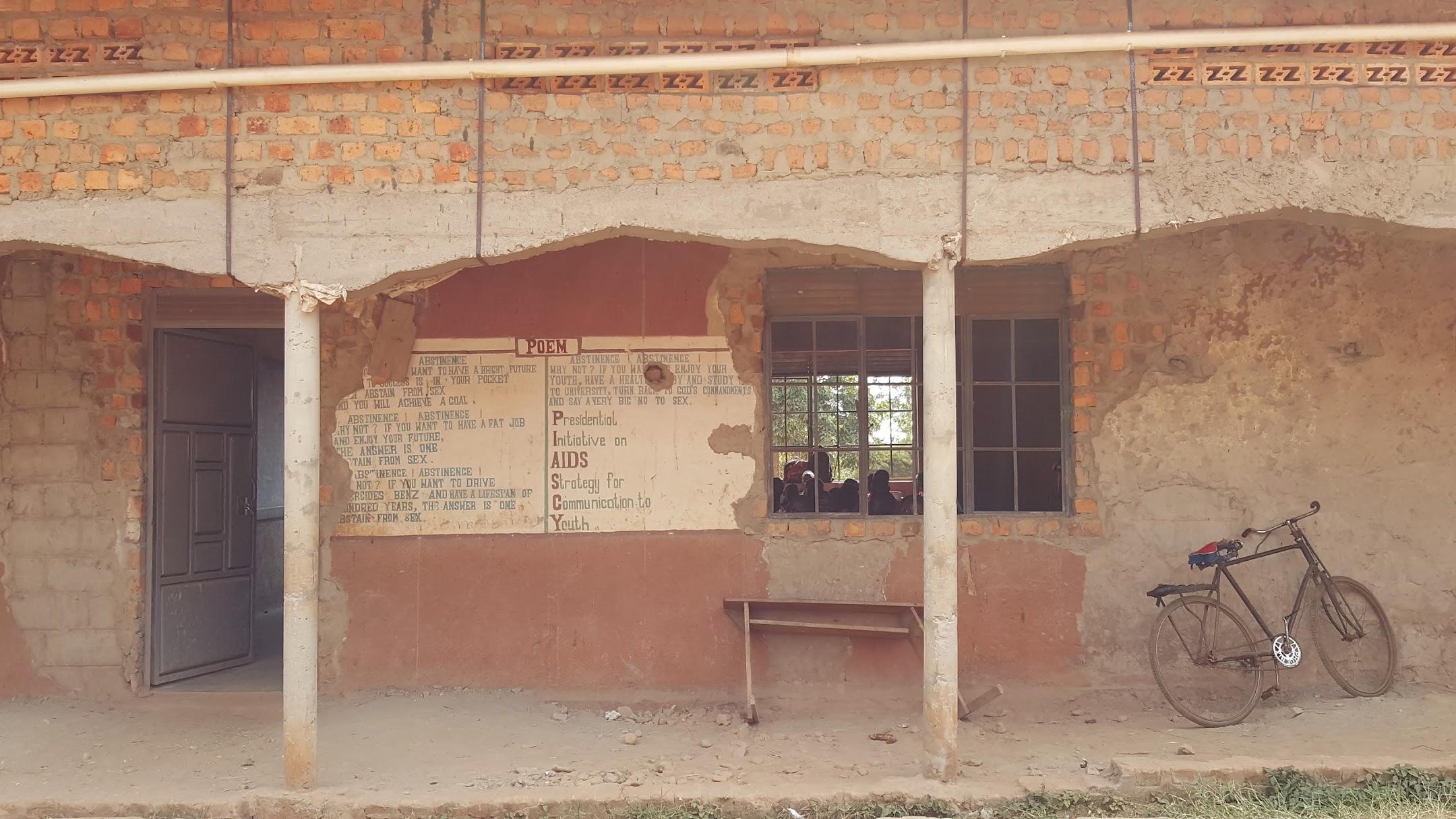 Parishioners inside St. Matia Mulumba Church