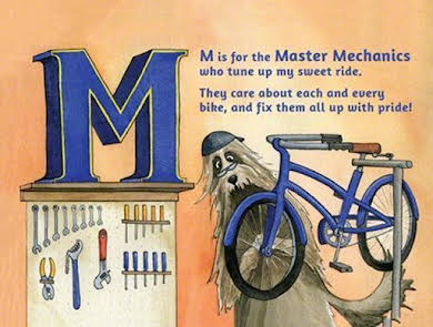 Buddy Pegs B is for Bicycles: Children's Alphabet Book alternate image 1