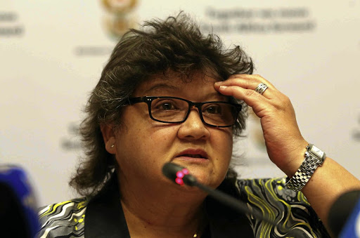 Public Enterprises Minister Lynne Brown. Picture: THE TIMES