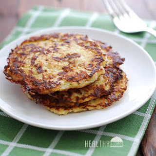 Cauliflower Pancakes.