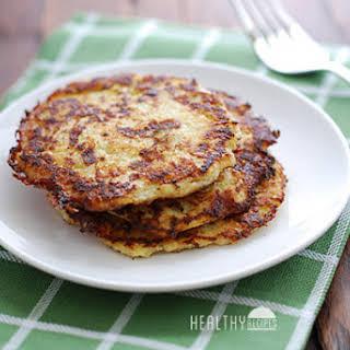 Cauliflower Pancakes.