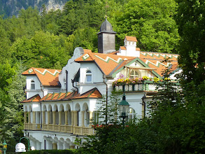 Photo: Das Terrassen-Cafè ist schwer zu fotografieren.