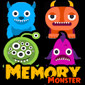 MEMORY MONSTERS Game for kids icon
