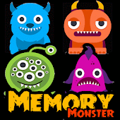 MEMORY MONSTERS Game for kids