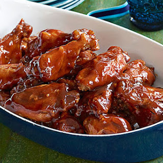 Slow-Cooker Party Wings.