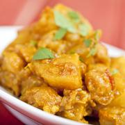 Aloo Gobi Curry Dish