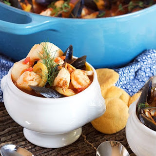 Easy Traditional Bouillabaisse.