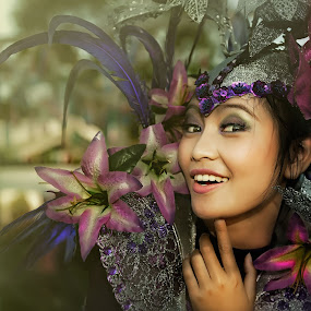 My Smile for You... by Sony Harsono - People Portraits of Women