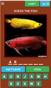 GUESS THE FISH - náhled