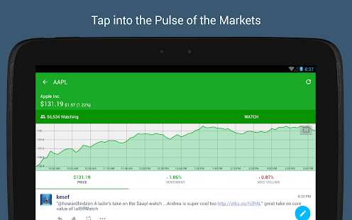 StockTwits - Stock Market Chat - screenshot thumbnail