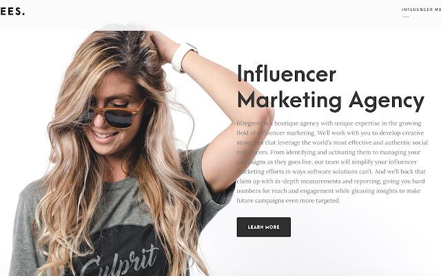 Influencer Marketing Agency - 6Degrees