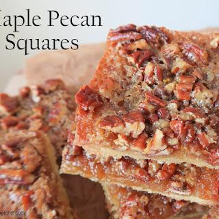 Maple Squares Recipes
