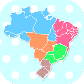 Brazil States & Capitals Map Quiz