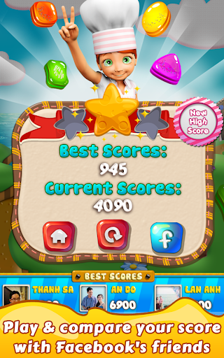 Cookie Star: Sugar cake puzzle match-3 game apktram screenshots 22