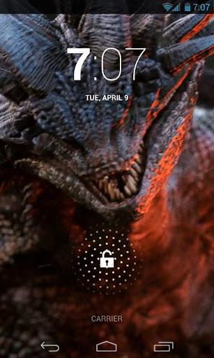 Epic Fire Dragon Live Wallpap