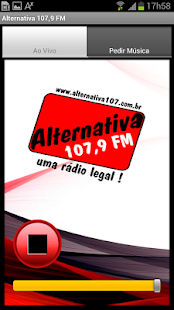 Alternativa 107,9 Mhz: miniatura da captura de tela