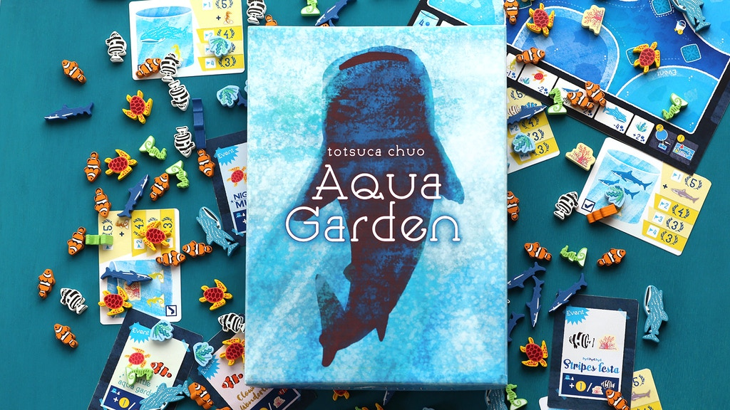 Project image for Aqua garden - Become an owner of an aquarium 1-4 players