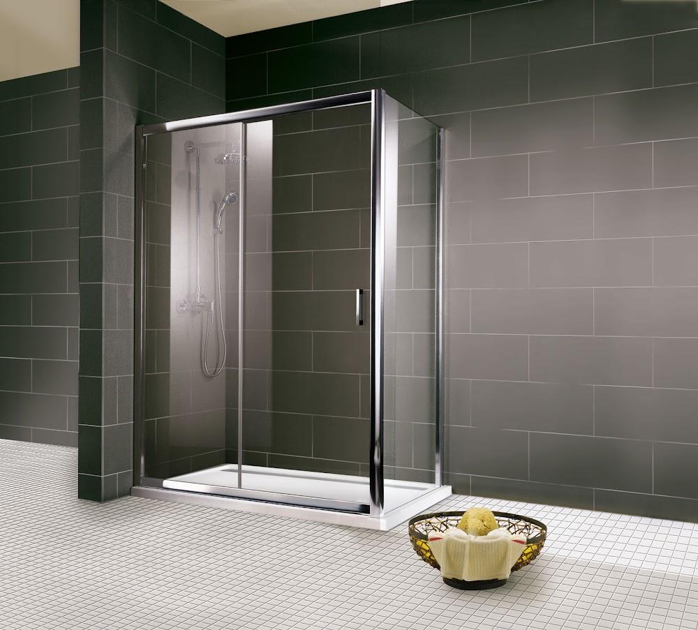 paroi fixe pour porte de douche coulissante schulte. Black Bedroom Furniture Sets. Home Design Ideas