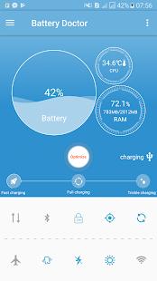 phone cooler, battery saver - náhled