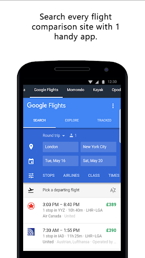 Compare Flight Tickets and Hotels 1.0 screenshots 4
