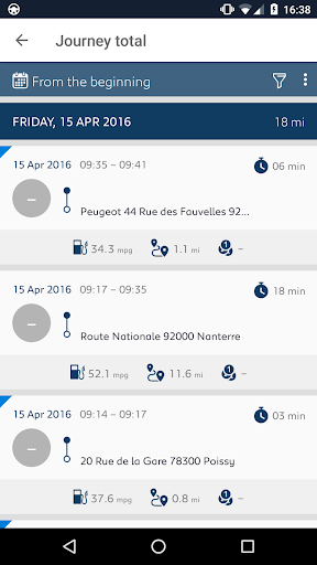 MYPEUGEOT APP  screenshots 2