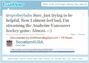 Photo: Game was played in Vancouver, 9-25-2010 (his bio says Socialism 4 USA lives on the US' West Coast)
