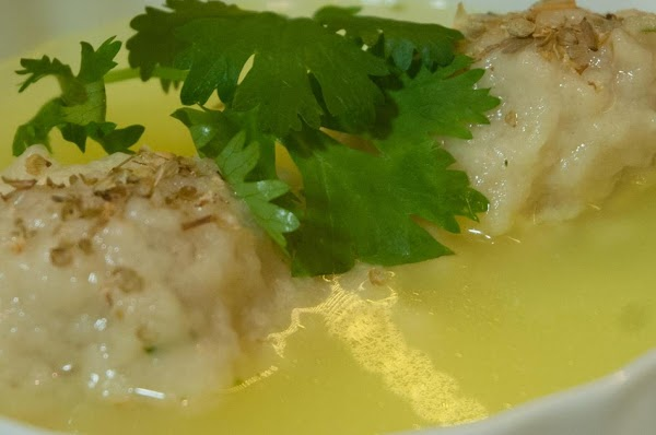 Cook and Eat Separately: Cook in some good chicken stock, and then serve them...