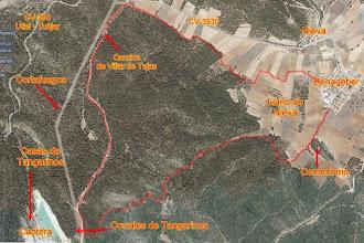 Photo: Mapa de la ruta ...