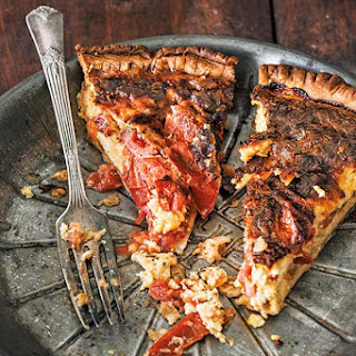 Roasted Tomato Quiche