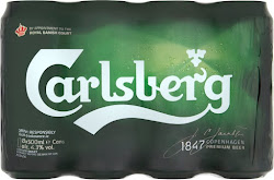 Carlsberg Premium Beer - Diageo Ireland Limited, 8 x 500ml